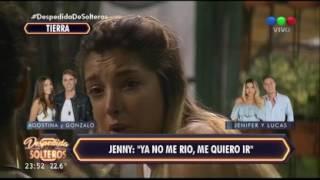 """Jenni desconsolada: """"Ya no me río, quiero irme a la mierda"""" - Despedida de Solteros"""