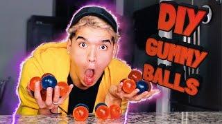 DIY GUMMY BOUNCY BALLS!