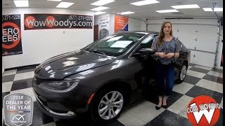 2015 Chrysler 200 Review | Video Walkaround | Used Cars and Trucks for sale at WowWoodys