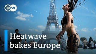 Record Temperatures Amid Heatwave Around Europe  DW News