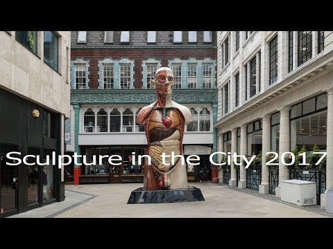 Damien Hirst - Temple - Sculpture in the City 2017 - London - July 2017