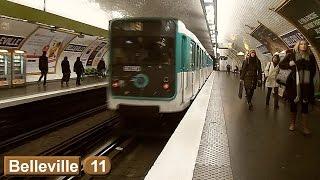 Belleville | Ligne 11 : Métro de Paris ( RATP MP59 )