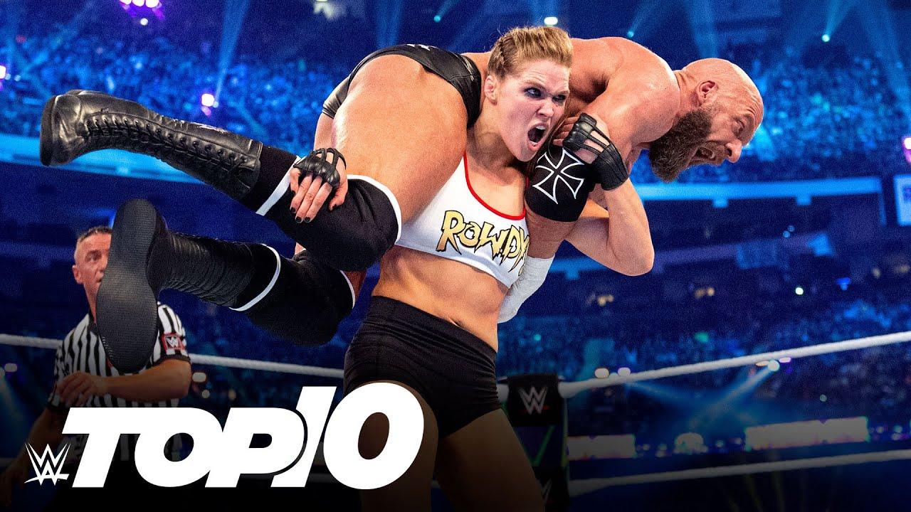 Download Loudest WrestleMania pops: WWE Top 10, April 4, 2021