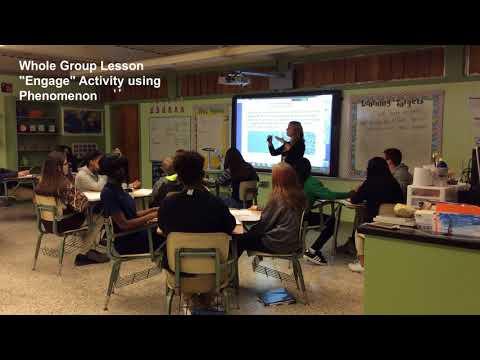 Jennifer Galloway DeRidder Junior High School Teacher of the Year