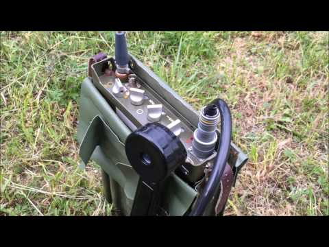 RF-10 (Takt 1) The Czechoslovak Army Manpack VHF Radio Review - Part 1