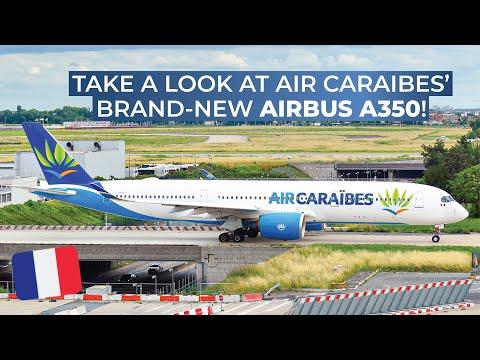 TRIPREPORT | Air Caraïbes (ECONOMY / Soleil) | Airbus A350-900XWB | Paris Orly - Toulouse