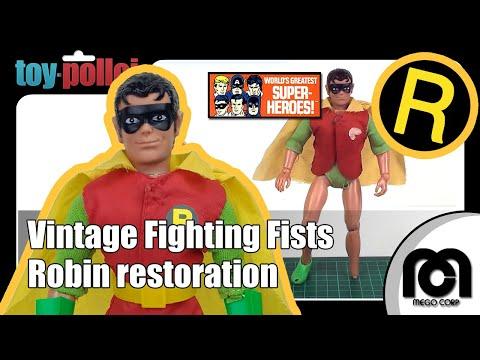 Fix it guide - Vintage Mego Robin restoration - Batman & Robin