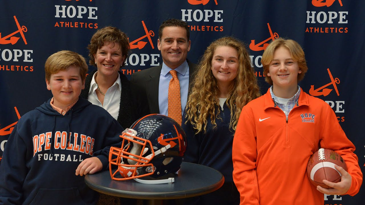 Hope College Football Press Conference - January 2016 ...