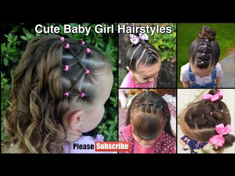 Cute Hairstyles For Baby Girl | Little Girl Hairstyles Ideas | Easy Baby Girl Hairstyles