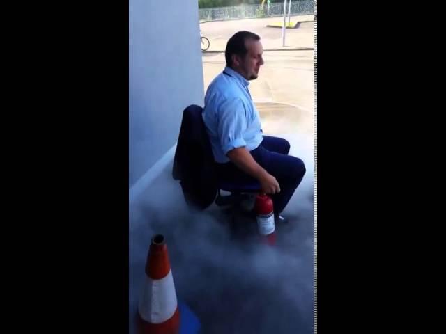 Fire Extinguisher Fail