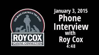Phone Interview With Roy Cox