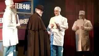 """Мюзикл для всей семьи """"Бармалей"""" в Швейцарии. Песня Доктора Айболита"""