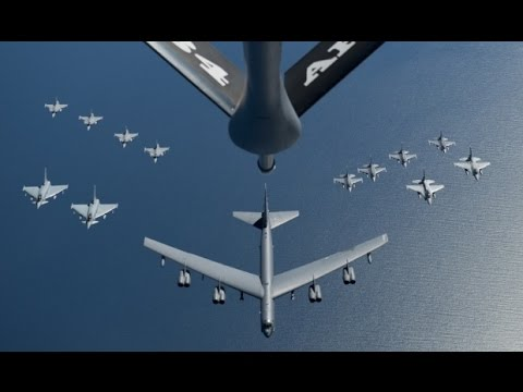 US Air Force FINAL WARNING for North Korean Military