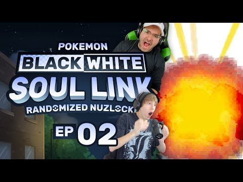 Pokemon Black & White Soul Link EP 02 | GHETTSIISSS!!