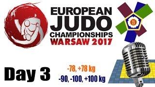 European Judo Championships Warsaw 2017: Day 3
