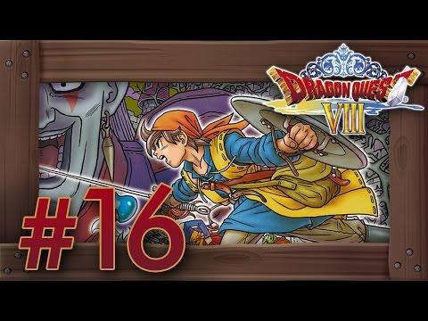 Dragon Quest 8 3DS Walkthrough Part 16 (English Gameplay) Dark Ruins & Boss Dhoulmagus
