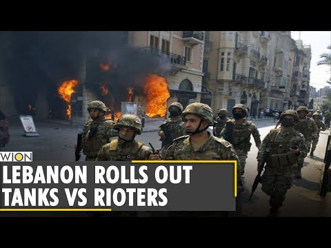 Lebanon: Hundreds of protesters clashed with soldiers in Tripoli| Anti Lockdown Protest|English News