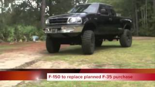 harper government says f 150 to replace f 35 plan