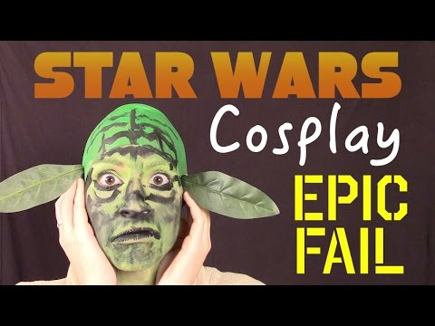 Star Wars Cosplay Epic Fail