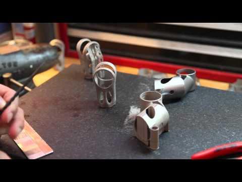 DMLS vs EBM titanium parts