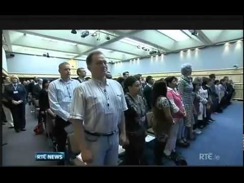 Irish Citizenship Cerimony at Dublin Castle