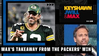Max Kellerman's big takeaway from Aaron Rodgers and the Packers taking down the Lions   KJM