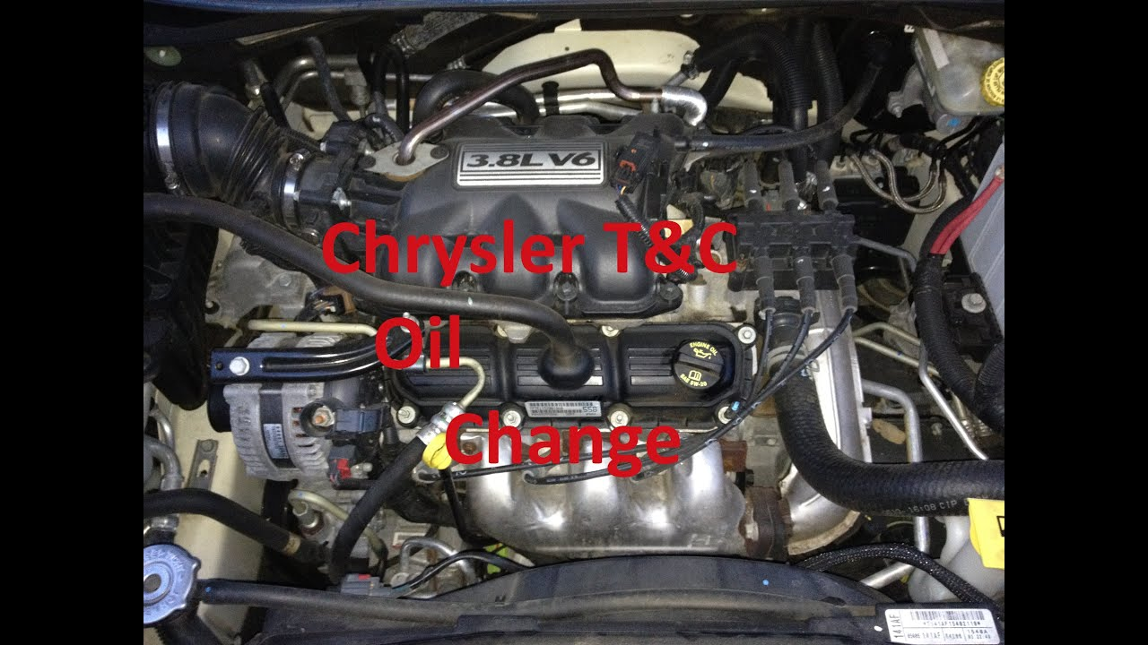 Chrysler town and country dodge grand caravan oil change for Motor oil for chrysler town and country
