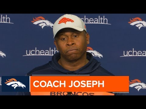 Vance Joseph Recaps Tough Run Game vs. 49ers Defense   Broncos Press Conference
