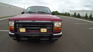 4K Review 1994 Ford Explorer XLT 4WD 24K Miles Virtual Test-Drive and Walk around