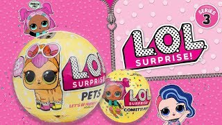 L.O.L. Surprise! Series 1,2,3, MGA Entertainment