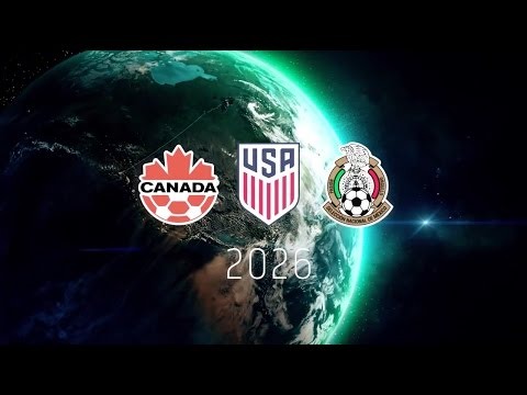 Mexico-USA-Canada WorldCup 2026