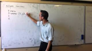Rational Functions (3 of 3)