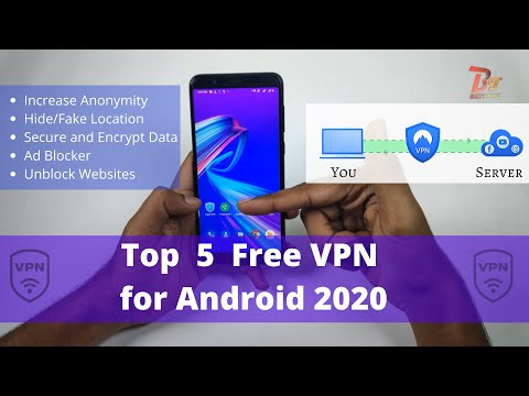 Best Free VPN Apps For Android In 2020 | Top 5 Free VPN To Increase Security & Hide Your Info.