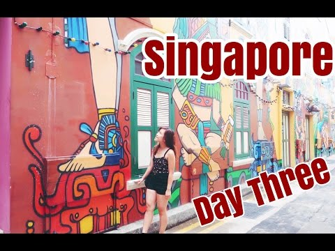 Travel Vlog || SINGAPORE - Kampong Glam & Chinatown