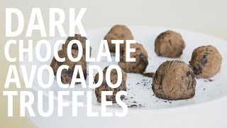 Repeat youtube video Dark Chocolate Avocado Truffles