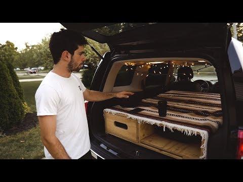 Ultimate Car Camping Setup // Jeep Patriot