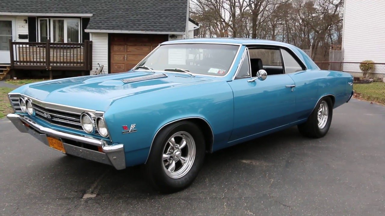 1967 Chevrolet Chevelle Ss For Salebig Block5 Speed9 Rear 196567 Bb Power Steering Pump Corvette Parts And Accessories Rearfantastic Youtube