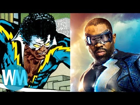 Comic Book Origins: Black Lightning