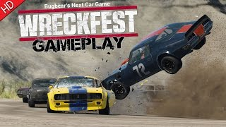 Next Car Game: Wreckfest (HD) PC Gameplay
