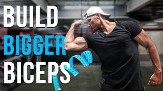 How To Get BIGGER BICEPS - Do These 3 Unique Exercises!