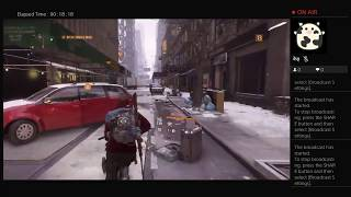 The Division, Part Eighteen, PS4 Live Broadcast, No Commentary, Walkthrough