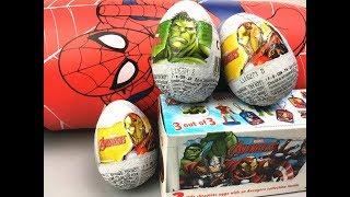 漫威英雄復仇者聯盟奇趣蛋玩具 驚喜蛋拆蛋