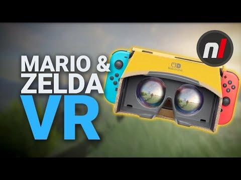 Mario & Zelda FREE VR Update on Nintendo Switch