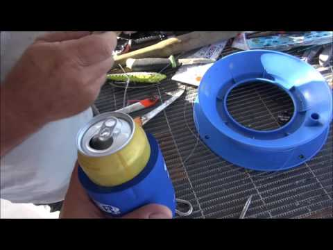 How To Make A Beer Can Teaser!! Quick And Easy Fishing Tip!!