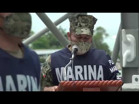 """Los buques ARM """"Papaloapan"""" y ARM """"Libertador"""" arribaron a Haití con ayuda humanitaria"""