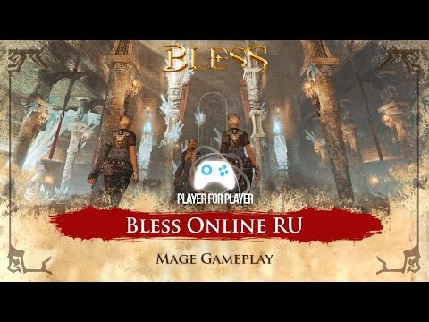 [LIVE 🔴] Bless Online RU - Mage Gameplay - Iniciando no game! Rumo ao End Game - Open Beta Russo