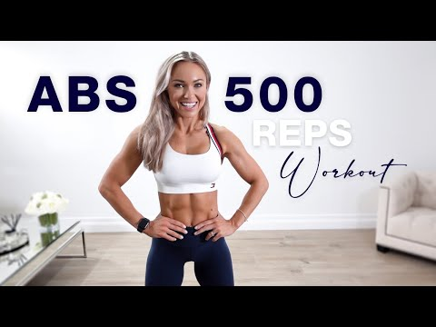 500 REP ABS WORKOUT at Home   My 10 Favourite Ab Exercises