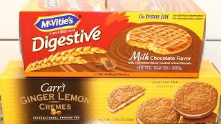 Mcvitie's Digestive Biscuits & Carr's Ginger Lemon Cremes Review