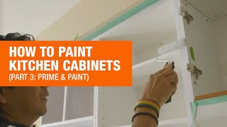 Updating Your Kitchen Cabinets Part 3: Paint
