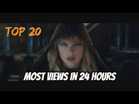 Top 20 Most Viewed Songs In First 24 Hours On YouTube!! (UPDATED) November 2017